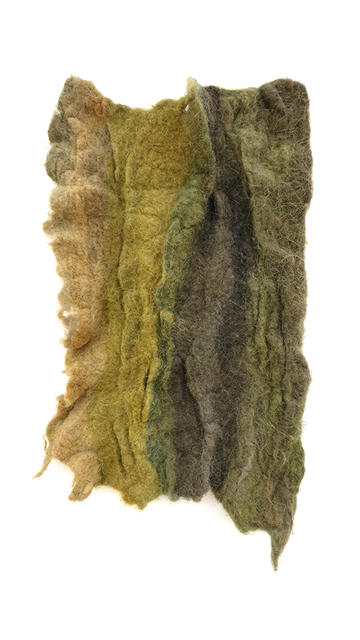 Christy Gast, 'Goldenrod all way', 2015, Textile Arts, Sheep's wool, Nina Johnson