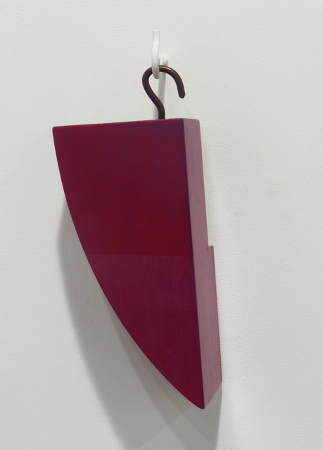 Kevin Finklea, 'Lost & Found #5', 2021, Sculpture, Acrylic on polar and sapele, Margaret Thatcher Projects