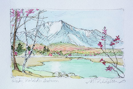 , 'Study for Katahdin Autumn,' , Pucker Gallery