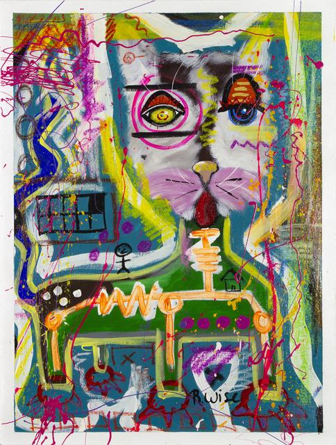 Rodrigo Wise, 'Con la lengua de fuera 5', Bernardini Art Gallery & Auction House