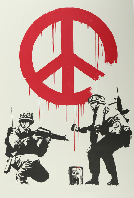 Banksy, 'CND Soldiers', 2005, Chiswick Auctions