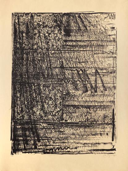 Jasper Johns, 'Two Flags', 1980-1981, Upsilon Gallery