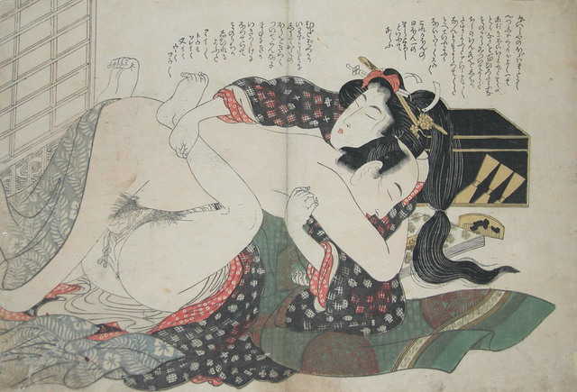 , 'Stop Talking and Make Love!,' ca. 1820, Ronin Gallery