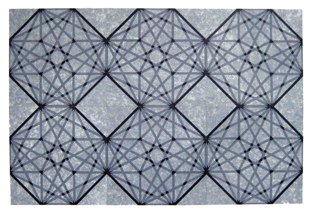 , 'Contained Element 6X6 #2,' 2009, Manneken Press