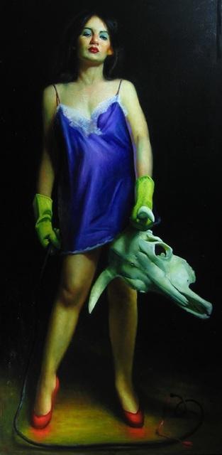 , 'Woman Fighting Bull,' 2007, Cavalier Galleries