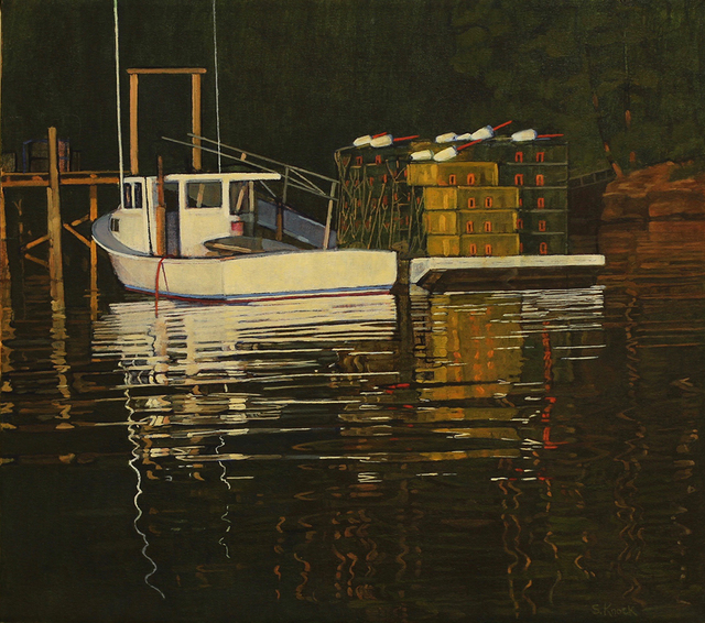 , 'Lookout Point Boats and Traps,' , Greenhut Galleries