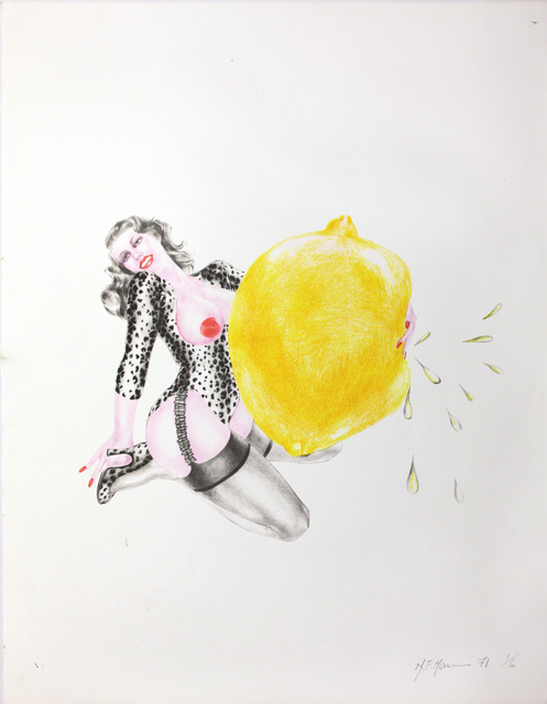 , 'Take One Lemon ,' 1971, Silberkuppe