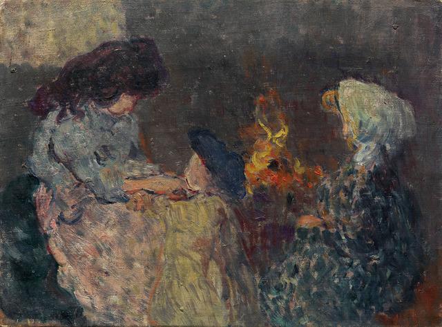 , 'La Flambée (Les enfants Bompart),' ca. 1899, Waterhouse & Dodd