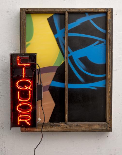 , 'Liquor,' 2014, Jonathan LeVine Projects