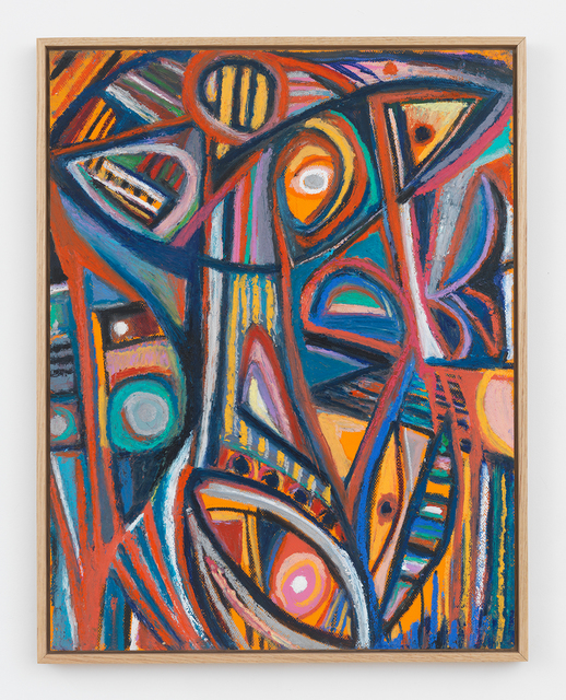 , 'Orange Eyes,' 2017, Halsey McKay Gallery