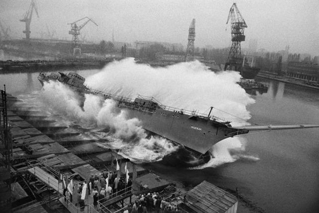 Sebastião Salgado, 'A ship is launched. Shipyards of Gdansk. Poland.', 1990, Sundaram Tagore Gallery