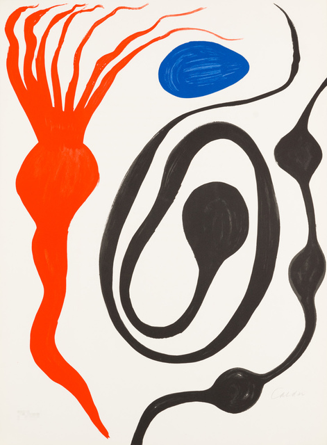 Alexander Calder, 'Untitled from Our Unfinished Revolution', 1975-2001, Christopher-Clark Fine Art
