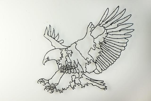 , 'American Eagle,' 2017, Sapar Contemporary