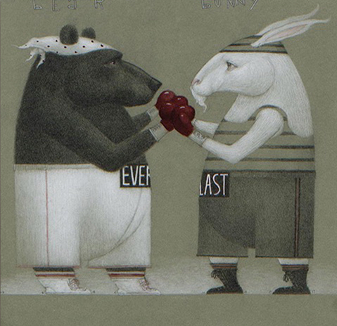 , 'When Bear and Bunny Grow to Equal Size,' 2017, AFA Gallery