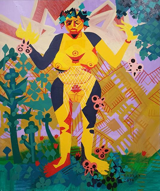 Alexandru Rădvan, 'Selfportrait as a Super Ancient Goddess', 2019, Anaid Art