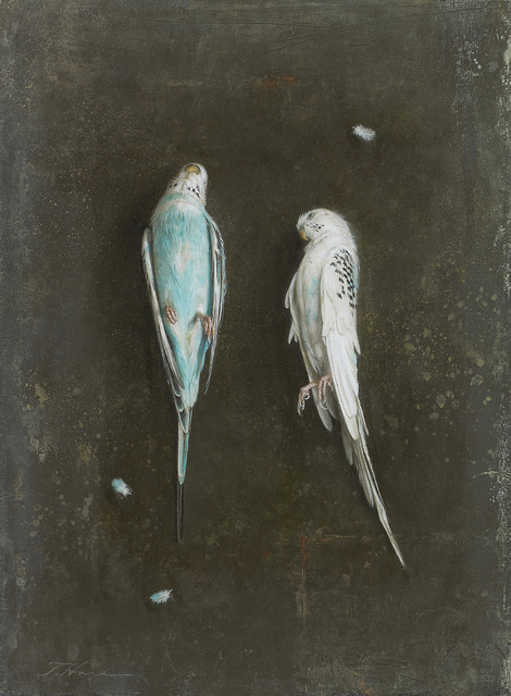 Takahiro Hara, 'Dos periquitos', Shukado Gallery