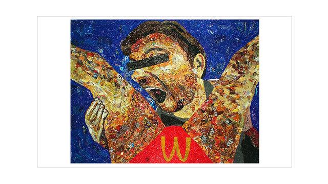 , 'Me La Como,' 2012, Disruptive Canvas