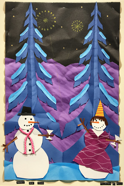 , 'Happy New Year,' 2017, Patricia Rovzar Gallery