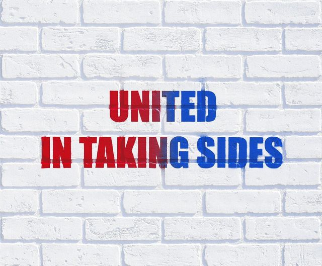 Adam Mars, 'United in Taking Sides', 2016, River