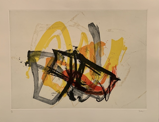Cleve Gray, 'Untitled', 1981, Other, Etching and aquatint on paper, Anders Wahlstedt Fine Art