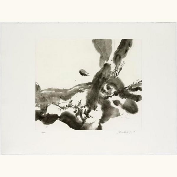 Zao Wou-Ki 趙無極, 'No title', 2007, Print, Etching and aquatint, Le Coin des Arts