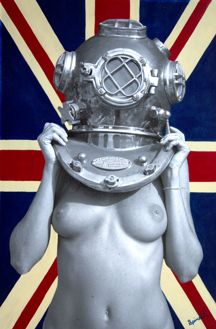 , 'Diver UP. Union Jack,' 2015, SPiN Galleries