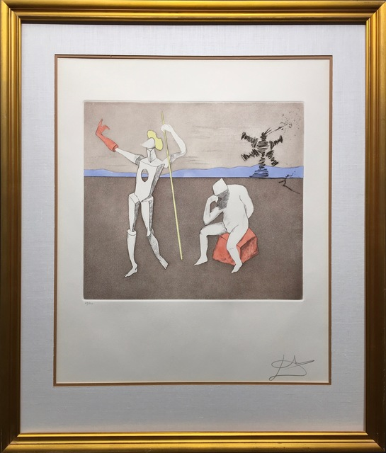 Salvador Dalí, 'The Power of Thought', 1980, Kings Wood Art