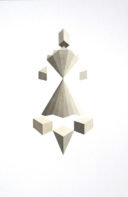 , 'Study 6,' 2014, Nora Fisch