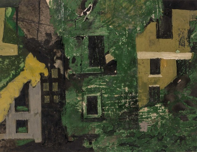 , 'Demolished Houses in St John's Wood,' 1953, Osborne Samuel