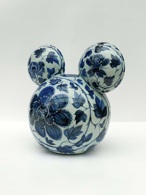, 'Mickey - CHINA (blue and white),' 2009, ART LABOR Gallery