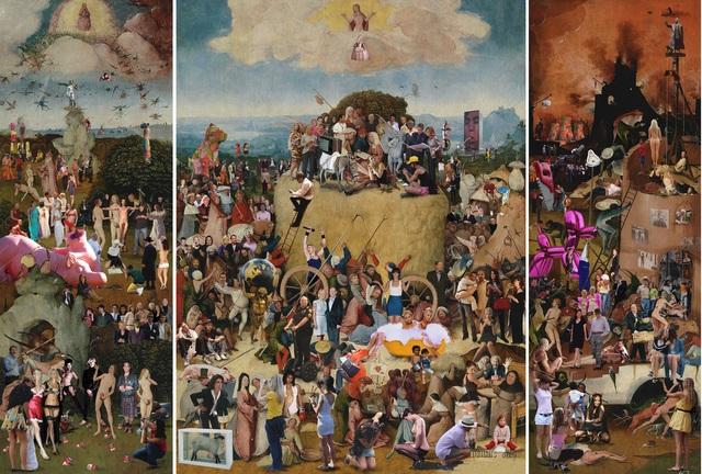 Lluis Barba, 'The Haywain, Triptych, Hieronymus Bosch ', 2009, Photography, Diasec - Photo on Plexiglass, Aldo Castillo Gallery