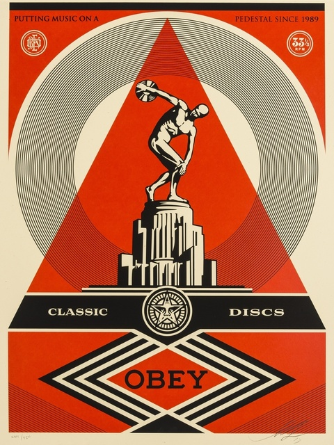 Shepard Fairey, 'Pedestal', 2012, Forum Auctions