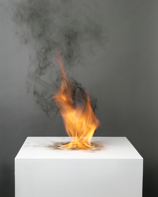 , 'Camphor Flame on Pedestal (0415),' 2010, Nature Morte