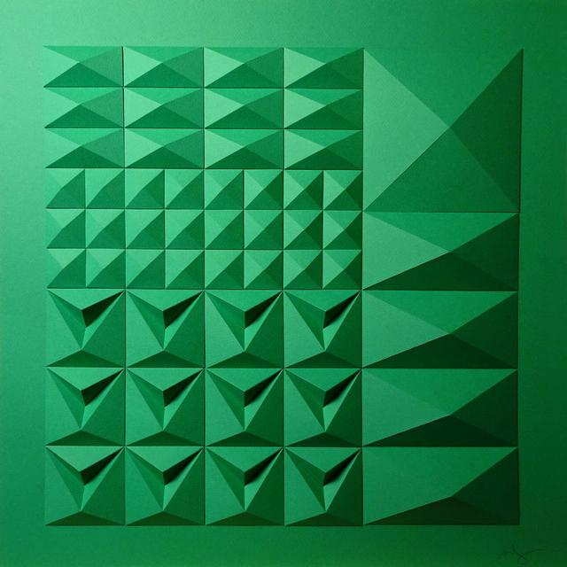 Matt Shlian, 'As Long as You Are Here (Square Version)', 2019, Duran Mashaal