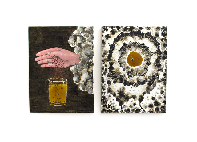 , 'additive and cyclops diptych,' 2017, Wil Aballe Art Projects | WAAP