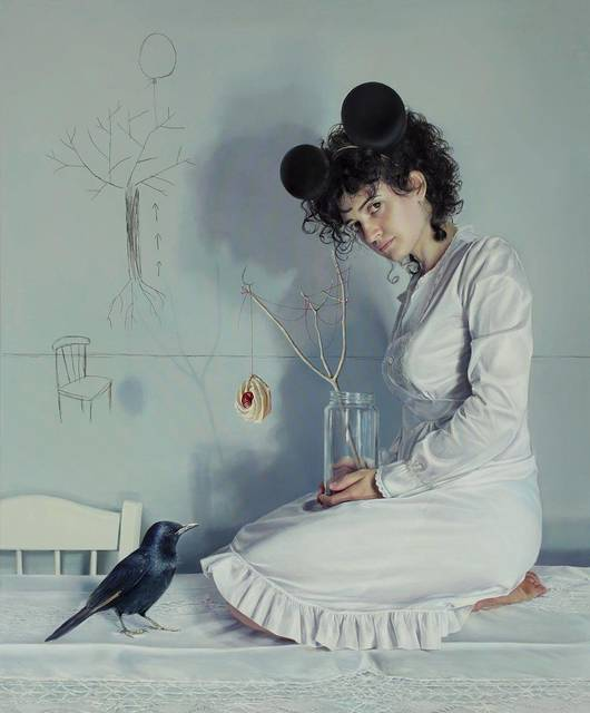 , 'Gravity bends light,' 2013, Liquid art system