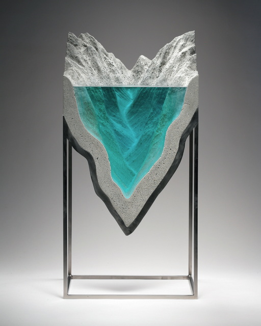 , 'Submerged Folds,' 2017, REDSEA Gallery