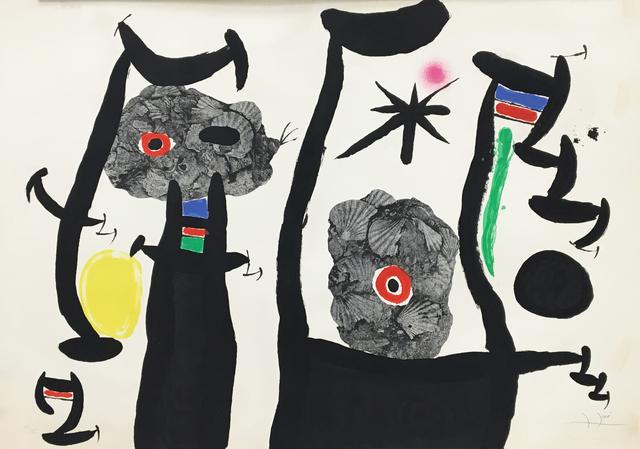 Joan Miró, 'The Sea Shells (Les Coquillages)', 1968, Baterbys