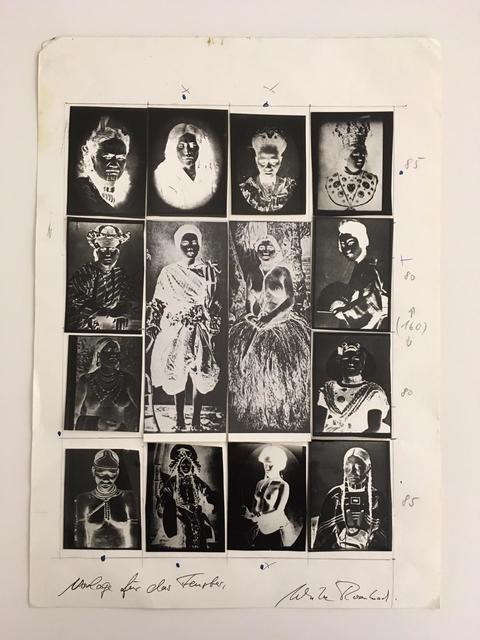 , 'Frauenkultur - Kontaktversuch,' 1978, PRISKA PASQUER