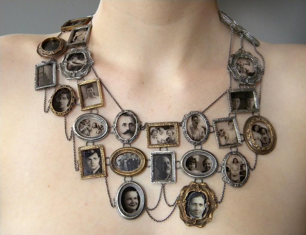 , 'I Am Who They Were (neckpiece),' 2011, Museum of Arts and Design