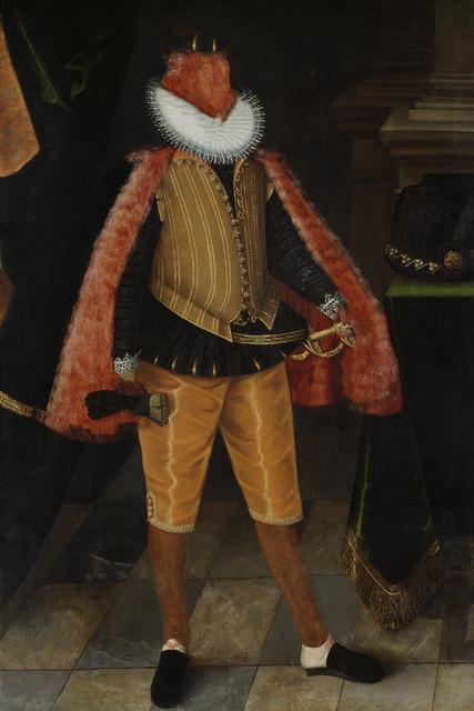 , 'Caput # 13 / 3480, based on KAISER FERDINAND II. (1578–1637) by Jakob de Monte, around 1591/1593,' 2018, Galerie Reinthaler