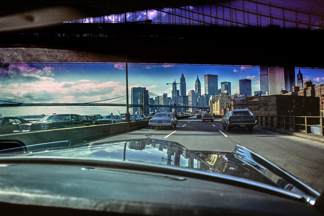 , 'FDR Drive, Manhattan and Brooklyn Bridge,' 1984, CHRISTOPHE GUYE GALERIE