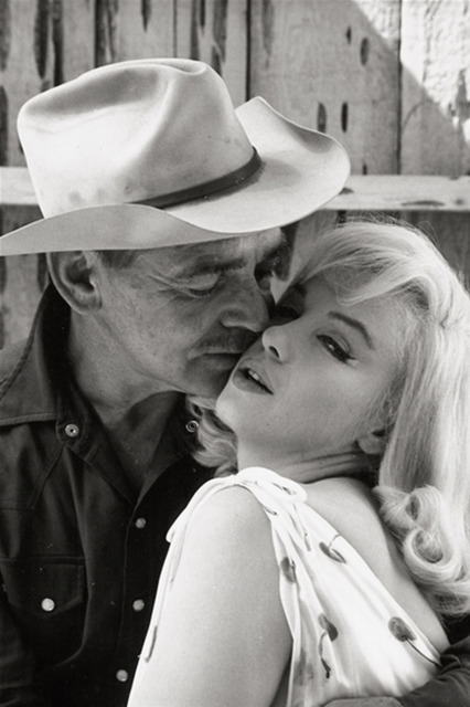 , 'Marilyn Monroe and Clark Gable on the set of The Misfits, Nevada,' 1960, Atlas Gallery
