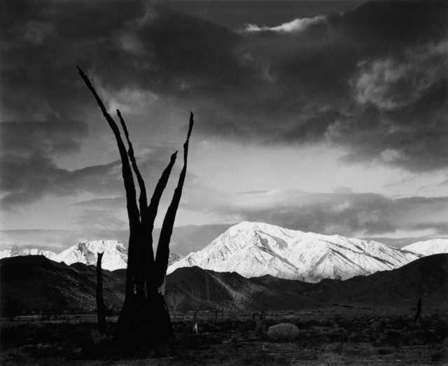 , 'Sunrise, Mt. Tom, Sierra Nevada, California,' 1976, Peter Fetterman Gallery
