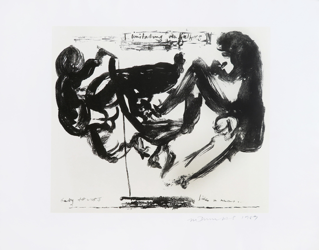 Marlene Dumas, 'Imitating the Fathers', 1989, MLTPL
