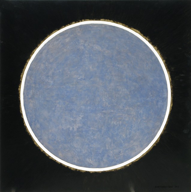 , 'Blue Eclipse ,' 2017, Moberg Gallery