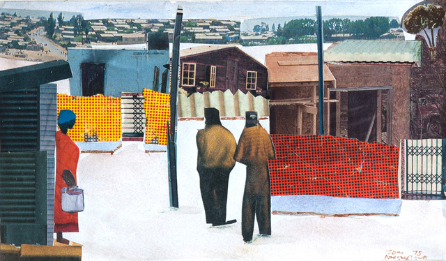, 'Street Scene With Figures,' 1995, EBONY/CURATED