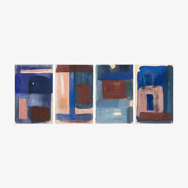 , 'Untitled (15, 16, 17, 18) ,' 2018, Tappan