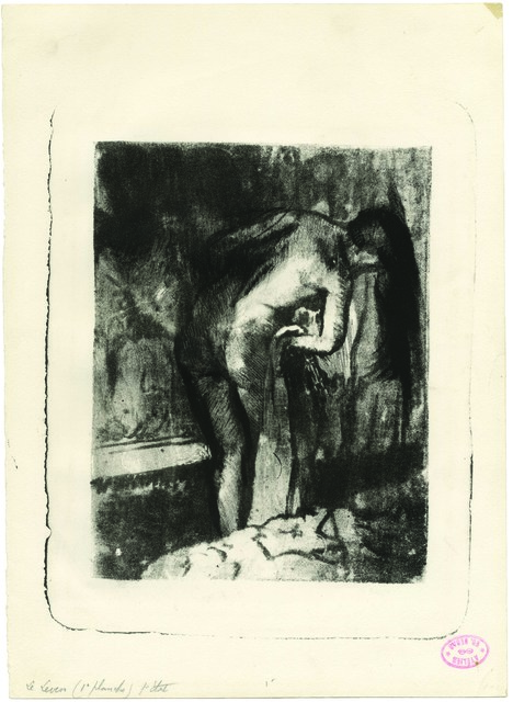 , 'Après le Bain – After the Bath II,' 1891-1892, C. G. Boerner