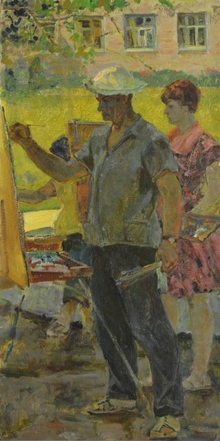 Aleksey Ivanovich Borodin, 'Painters', 1962, Surikov Foundation